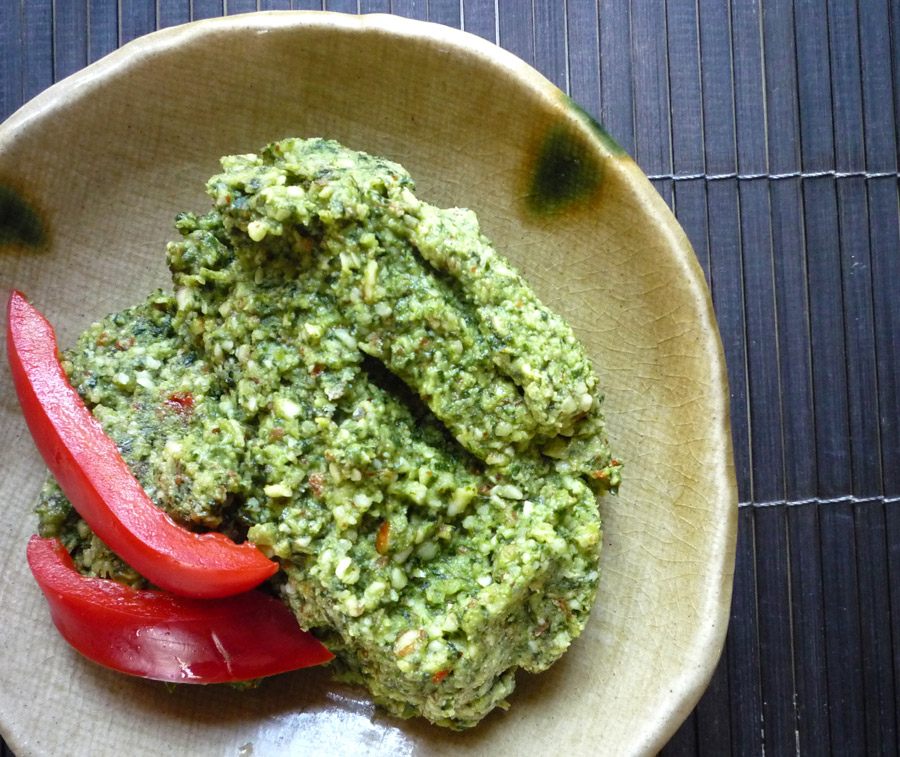 cilantro pesto summer veggies with quinoa cilantro pistachio pesto ...